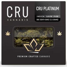 CRU Platinum | Indica | 3500mg