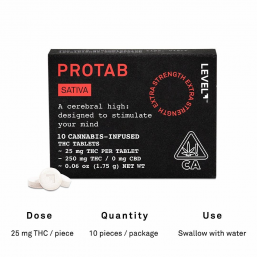 Sativa ProTab by Level Blends