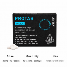 Indica ProTab by Level Blends