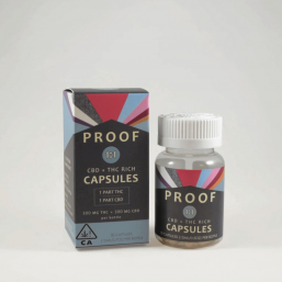 Proof 1:1 CBD/THC Capsules